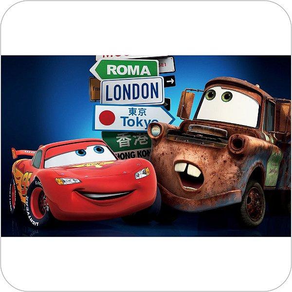 Painel de Festa Infantil Carros - McQueen e Mater Viagens