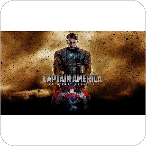 Painel de Festa Infantil Capitão America The First Avenger
