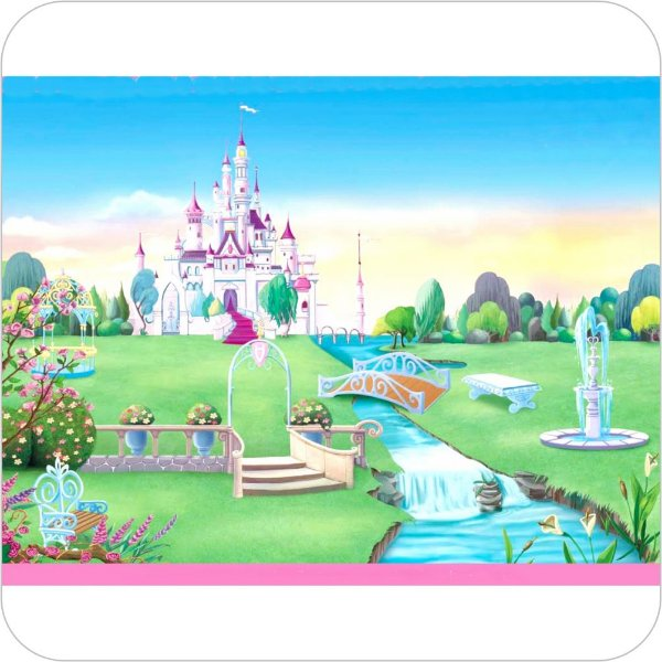 Painel de Festa Infantil Castelos Disney