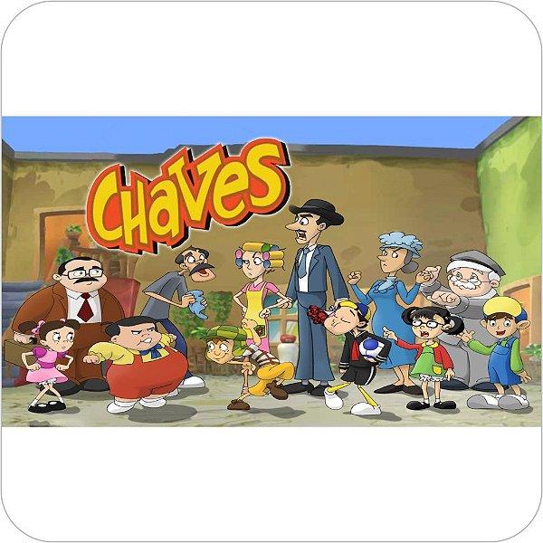 Painel de Festa Infantil Chaves - Capa do Desenho