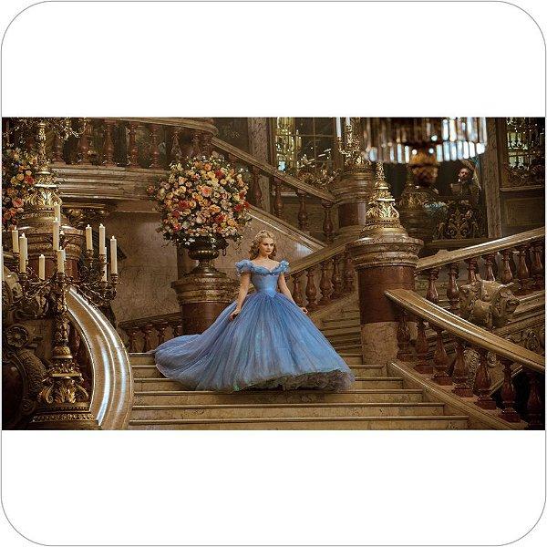 Painel de Festa Infantil Cinderela O Filme - Escadas