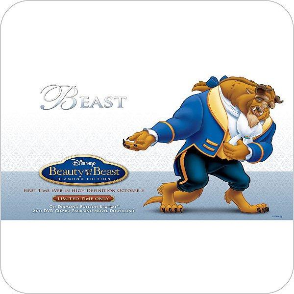 Painel de Festa Infantil A Bela e a Fera - The Beast