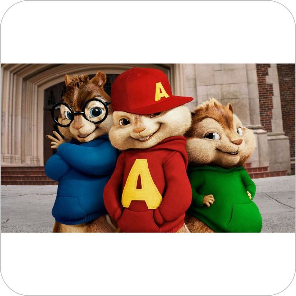 Painel de Festa Infantil Alvin e os Esquilos