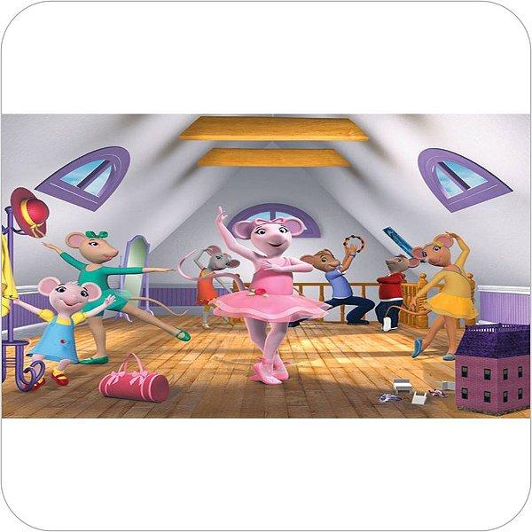 Painel Para Festa Infantil Angelina Bailarina no Balé