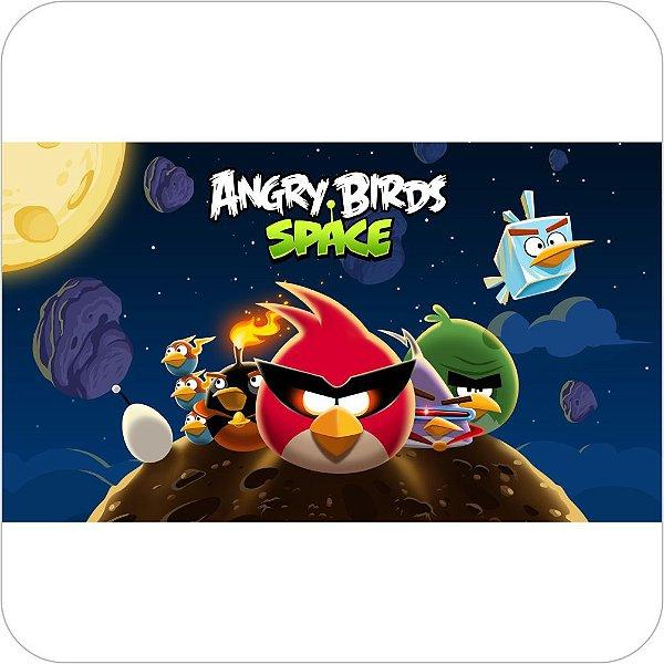 Painel de Festa Infantil Angry Birds Space