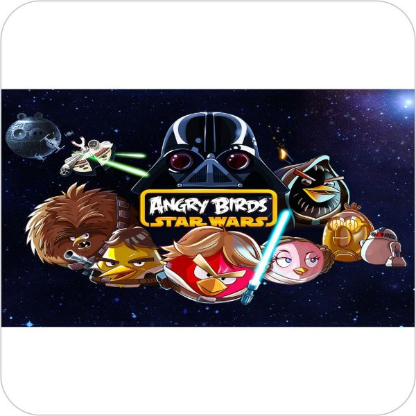 Painel de Festa Infantil Angry Birds Star Wars