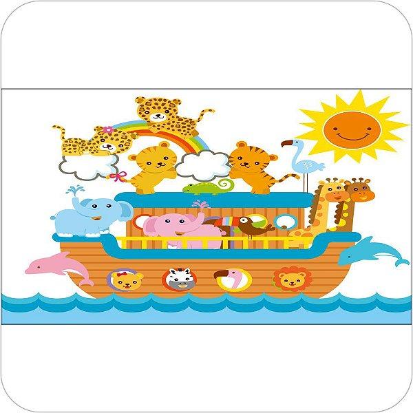 Painel de Festa Infantil Arca de Noé - Desenho