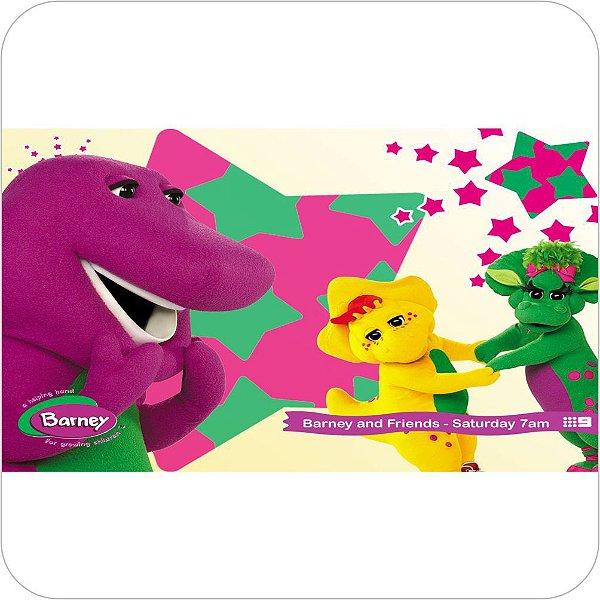Painel de Festa Infantil Barney