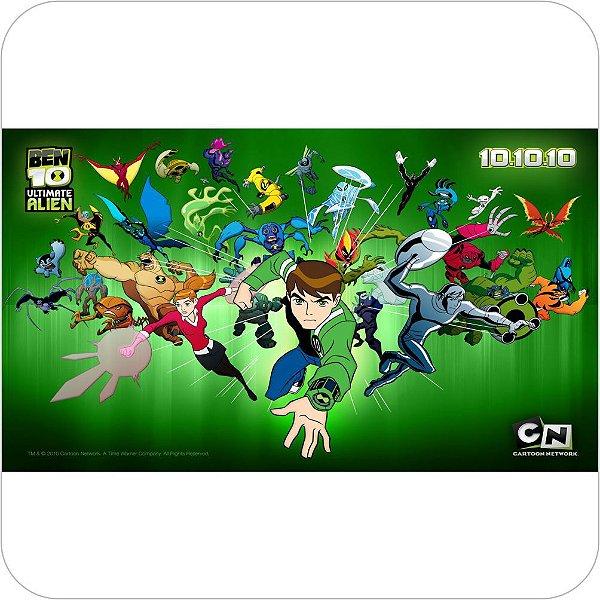 Painel de Festa Infantil Ben 10 Alien Force Nova Geração