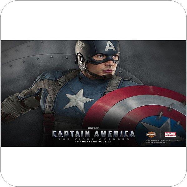 Painel de Festa Infantil Capitão America O Primeiro Vingador
