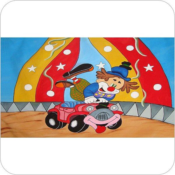 Painel de Festa Infantil Circo - Palhaço