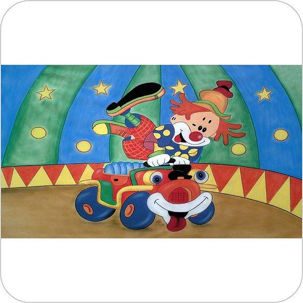 Painel de Festa Infantil Circo - Palhaço II