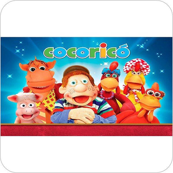 Painel de Festa Infantil Cocoricó
