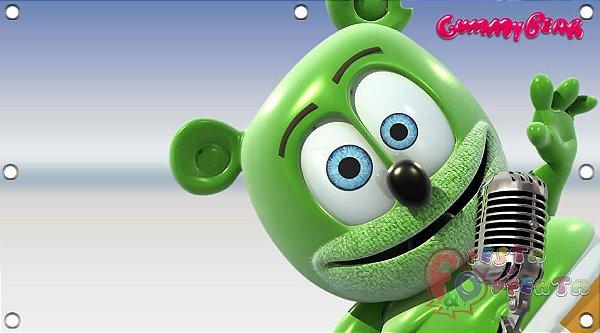 Painel de festa infantil - Gummy Bear