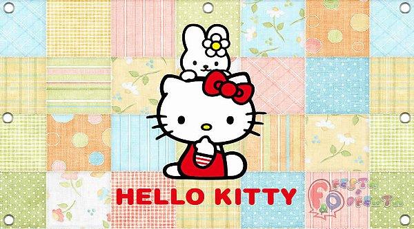 Painel para decoração de festa infantil - Hello Kitty