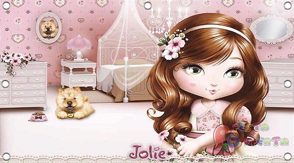 Painel para decoração de festa infantil - Jolie-Bonecas