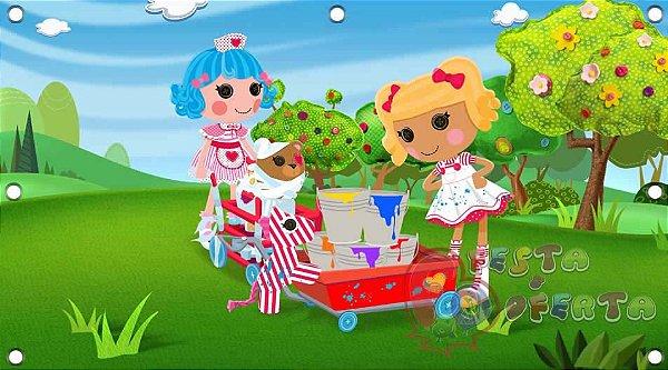 Painel para decoração de festa infantil  -  Lalaloopsy