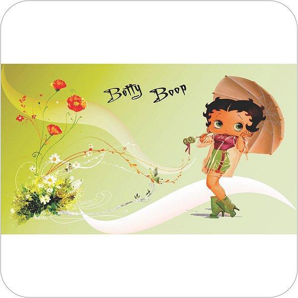 Painel de Festa Infantil Betty Boop Flores