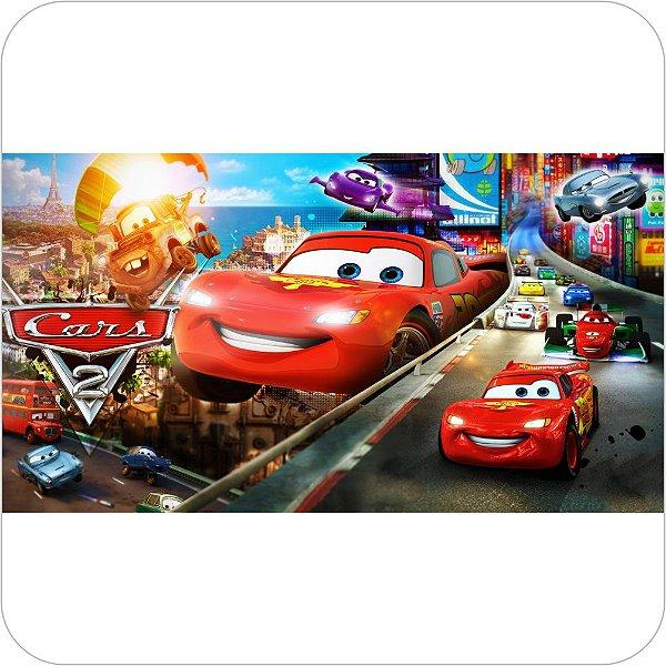 Painel de Festa Infantil Carros - Relâmpago McQueen