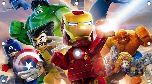 Painel para decoração de festa infantil - Lego - O Filme