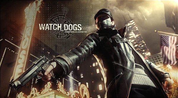 Painel para decoração de festa infantil  - Watch Dogs