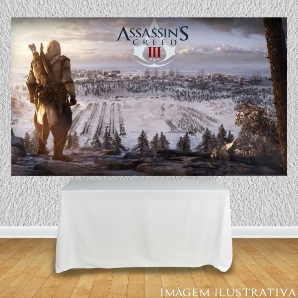 Painel de Festa Infantil Assassin's Creed III
