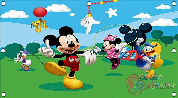 festa do mickey decoração infantil