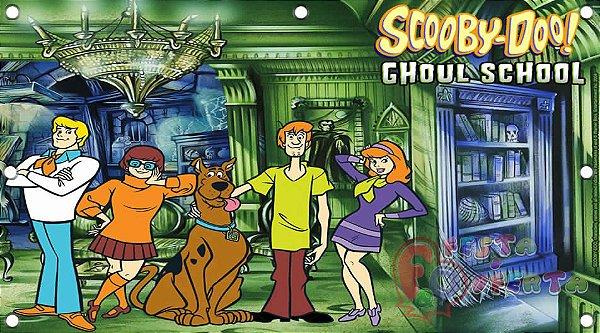 Painel para decoração de festa infantil - Scooby-Doo