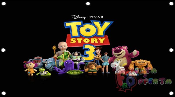 Painel para decoração de festa infantil - Toy Story
