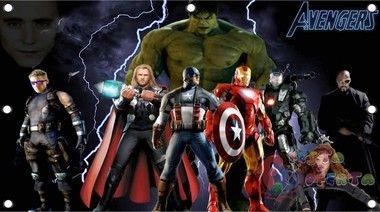 Vingadores avengers todos os personagens em fundo preto