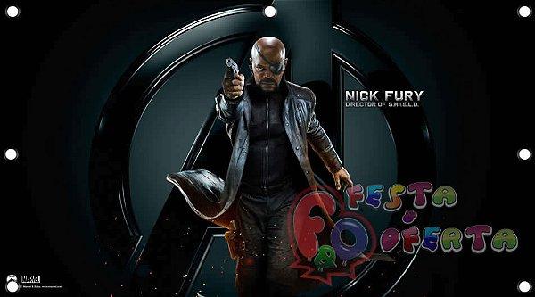 Vingadores nick fury avengers painel infantil