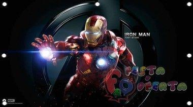 vingadores avengers iron man painel de festa infantil