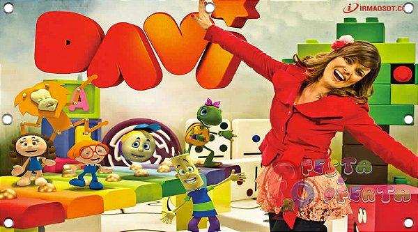 Painel para decoração de festa infantil - Diante do Trono