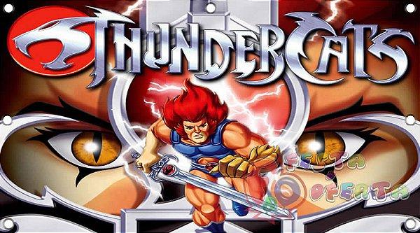 Painel para decoração de festa infantil - Thundercats