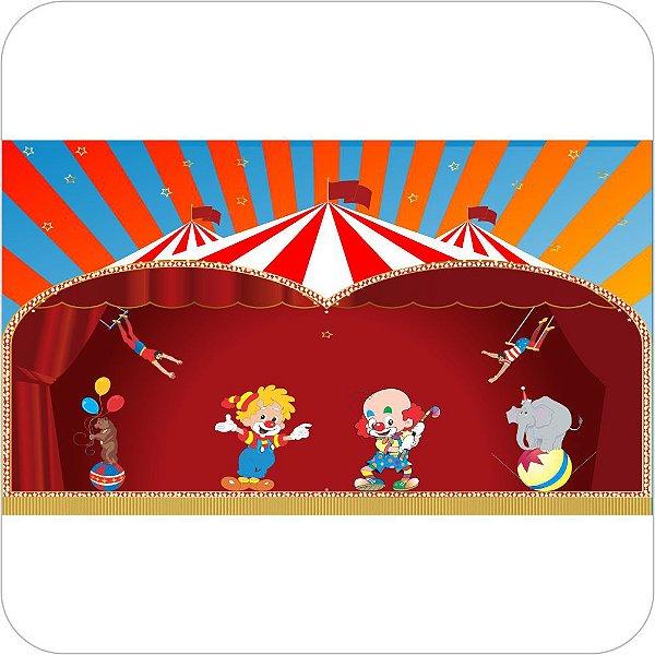 Painel de Festa Infantil Circo - Palco
