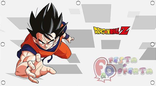 Painel para decoração de festa infantil - Dragon Ball