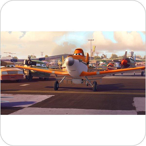 Painel de Festa Infantil Aviões - Disney - Dusty II