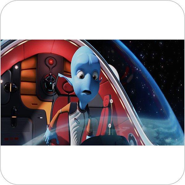 Painel para decoração de festa infantil - A Fuga do Planeta Terra no Espaço