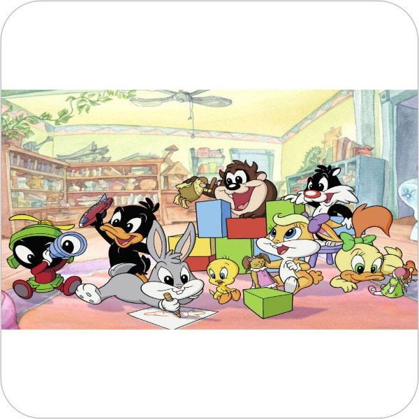 Painel de Festa Infantil Baby Looney Tunes - Todos