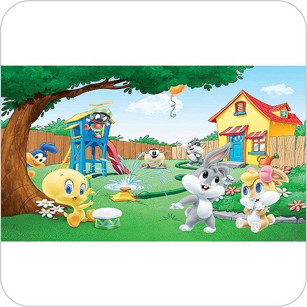 Painel de Festa Infantil Baby Looney Tunes no Parque