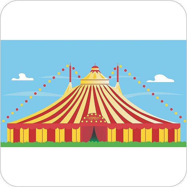 Painel de Festa Infantil Circo Montado
