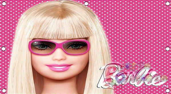 Painel para decoração de festa infantil - Barbie Original