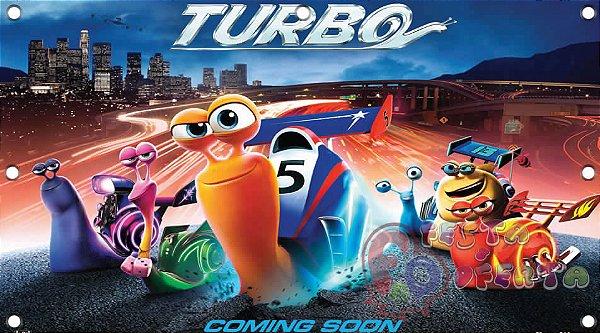 Painel para decoração de festa infantil  -  Turbo