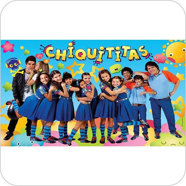 Painel de Festa Infantil Chiquititas - Elenco