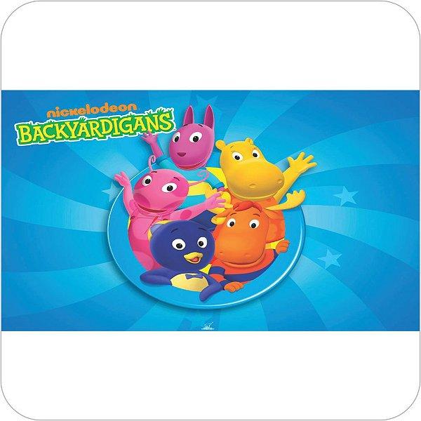 Painel de Festa Infantil Backyardigans - Logo