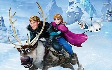Frozen filme em uma aventura congelante painel infantil