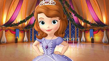Decoração Princesa Sofia no Castelo - Painel Infantil