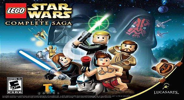 Painel para decoração de festa infantil - Star Wars Lego