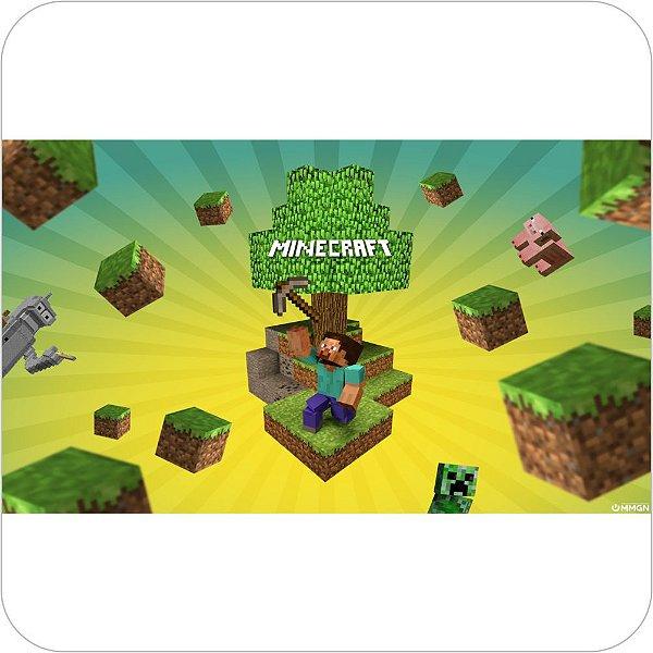 Painel de Festa Infantil Minecraft - Capa