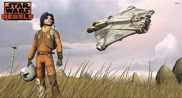 Painel para decoração de festa infantil - Star Wars Rebels